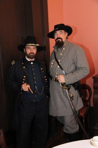 General Grant and General Forrest at Casey Jones Village, Dec 15, 2012 015