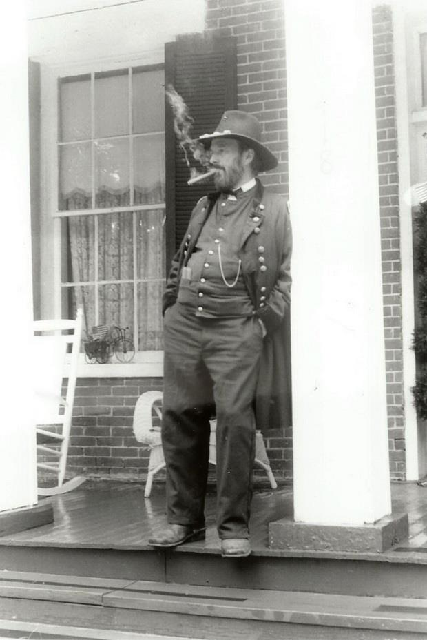 Dr Curt Fields as General Grant