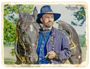 Farmington Grant and horse old 2013
