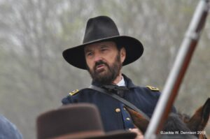 """General Grant to start the """"Run Through History!"""" race in Vicksburg, MS, on Saturday, March 4th. @ Vicksburg National Military Park 