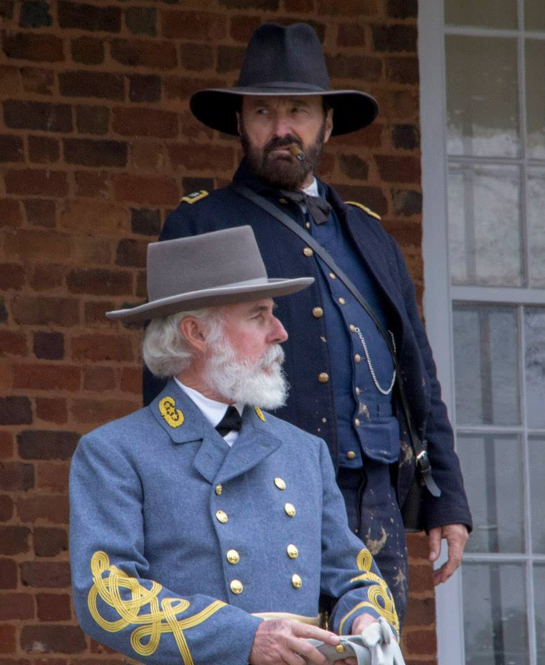 "General Grant Joins General Lee to Present ""Appomattox: The Last 48 Hours"" for the Kirby Smith Camp #1209, SCV, on January 27, 2019, in Jacksonville, Florida"