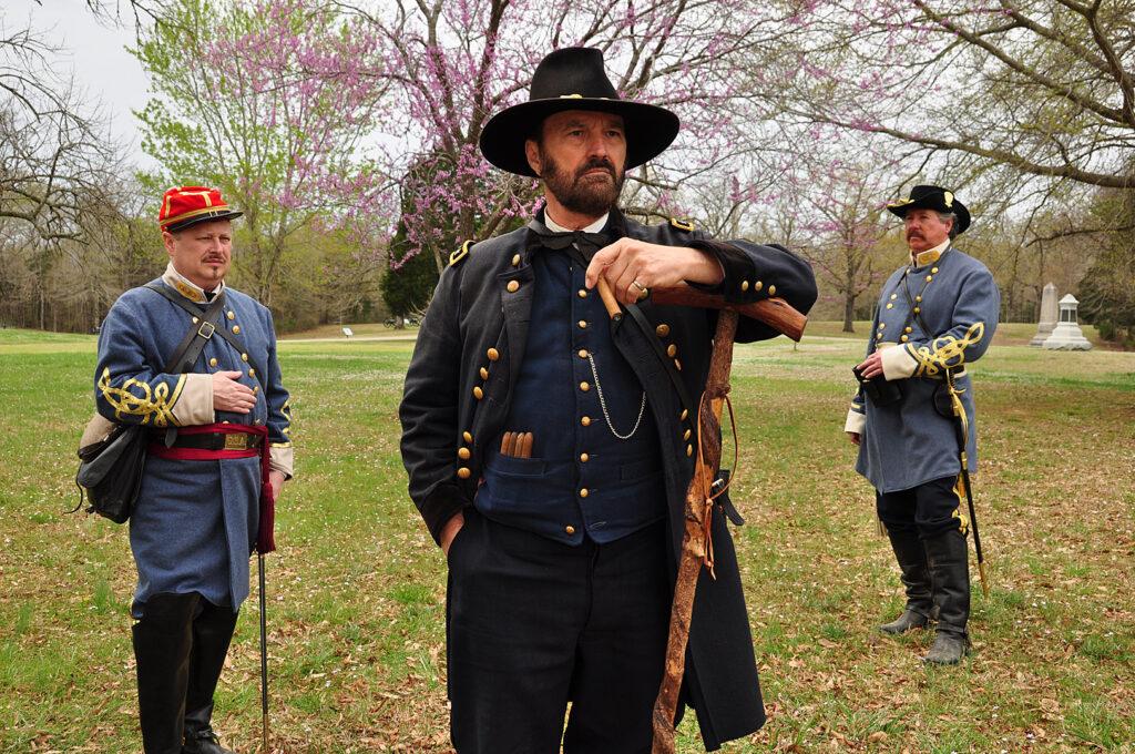 Shiloh 15 three generals  David Hessell