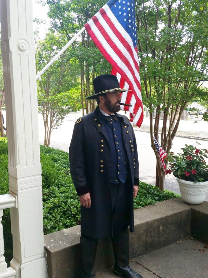 "General Grant will participate in ""The Portal To Freedom"" at The Annual 'Civil War Camp Days' at Camp Nelson Civil War Heritage Park in Nicholasville, Kentucky @ Camp Nelson Civil War Heritage Park 