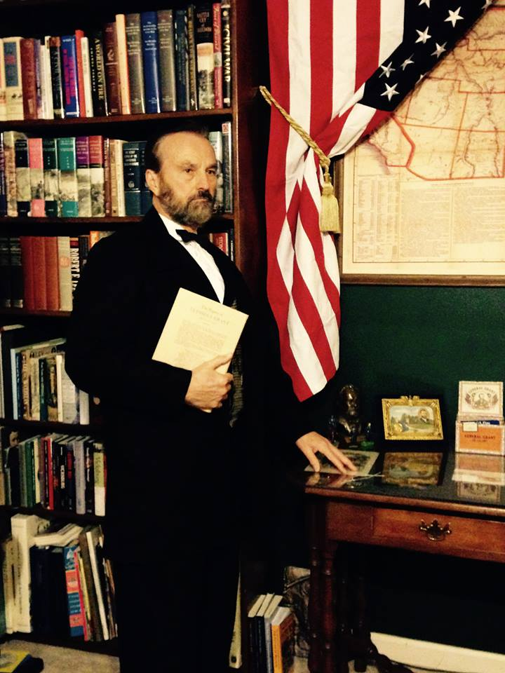 President Grant to speak to the Roanoke, Virginia, CWRT on March 10th, 2020, of his Election as President and His First Term in Office