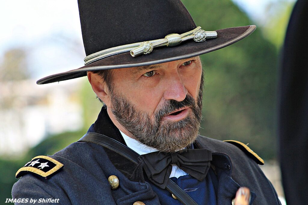 General Grant to be at the Crater in Petersburg National Battlefield on July 27th-28th, Instant, to discuss the Battle of the Crater @ Petersburg National Battlefield