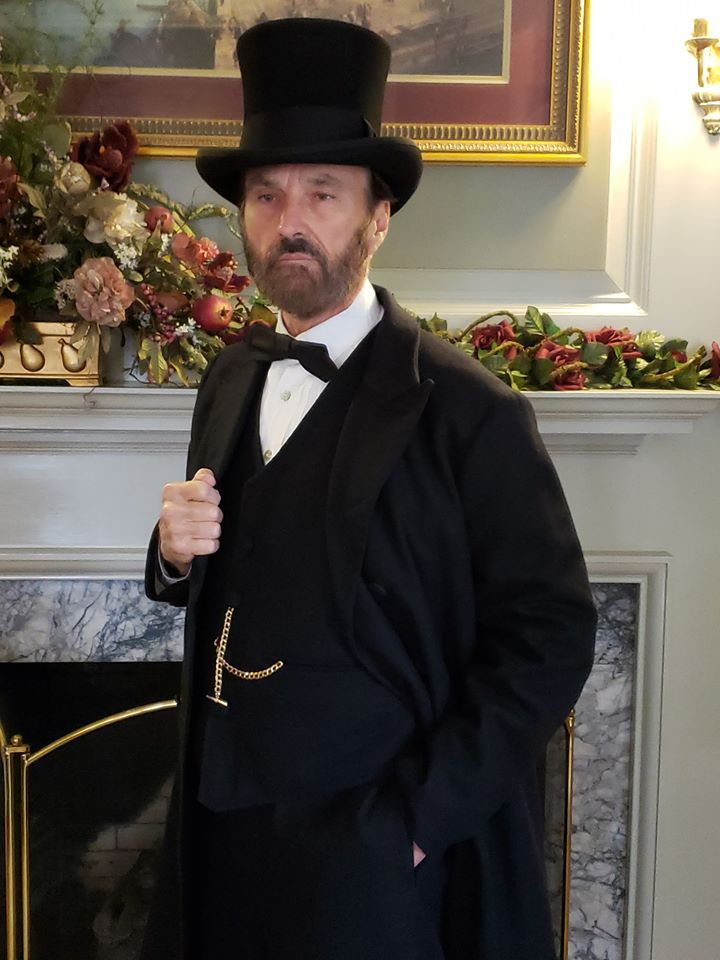 President and Julia Grant Will Receive Callers at His Boyhood Home During the Georgetown, Ohio, Christmas Tour of Homes, on December 8th, Instant @ Georgetown, Ohio, Christmas Tour of Homes
